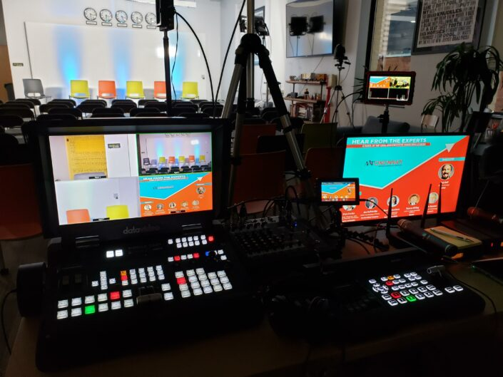 Live Streaming with Valere Studios and Datavideo