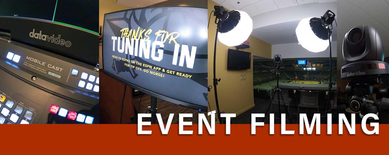 Event Filming in Northern Kentucky, Cincinnati, Northern Kentucky University. Professional Videographer service.