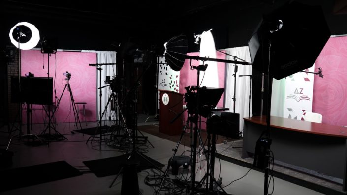 Behind the Scenes look at our Virtual Conference for Delta Zeta Sorority, Valere Studios