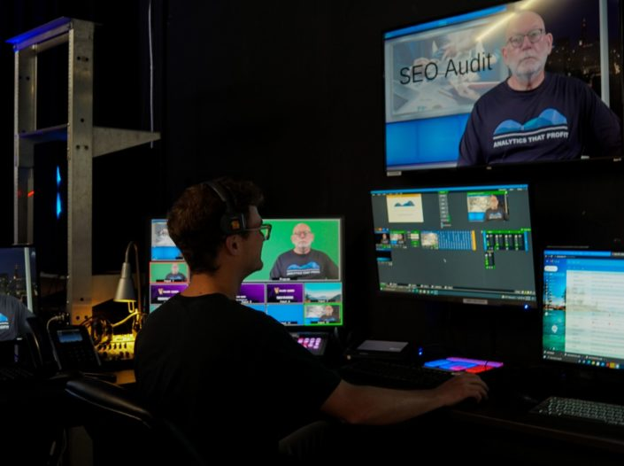 Behind the scenes look at the control room at Valere Studios